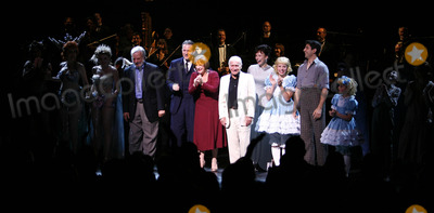 Arthur Laurents Photo - Stephen Sondheim Boyd Gaines Patti Lupone Laura Benanti Arthur Laurents Emma Rowley Tony Yazbeck Sami Gayle and castat the Opening Night Curtain Call for the Summer Stars - Encores Gypsy Opening Night at City Center at NY City Center in New York CityJuly 12 2007Credit McBrideface to face