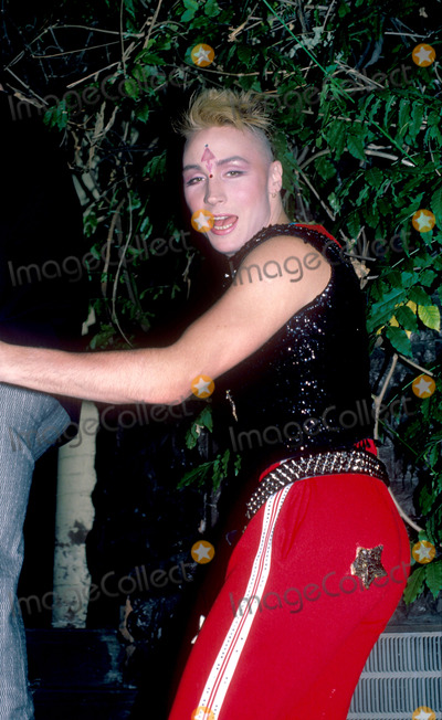 Boy George Photo - MARILYN(Singer and Good Frienf of Boy George)Attending Birthday party in his honor at Friends apartment on the Upper West Side in New York CityJune 14 1985Credit McBrideface to face
