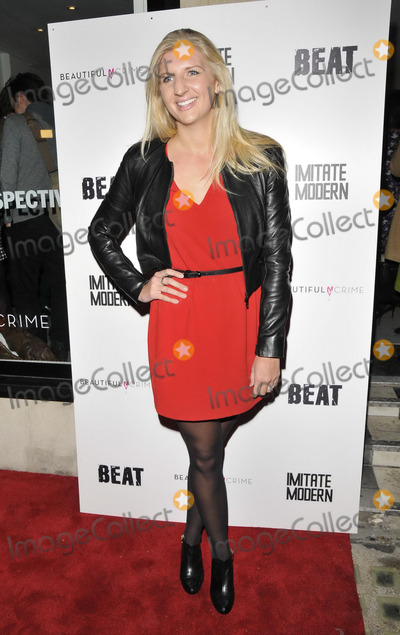 Rebecca Adlington Photo - LONDON ENGLAND - JANUARY 16 Rebecca Adlington attends the Russell Marshall 40 - A Kate_Moss Retrospective exhibition private view Imitate Modern Gallery Devonshire St on Thursday January 16 2014 in London England UKCAPCANCan NguyenCapital Picturesface to face- Germany Austria Switzerland and USA rights only -