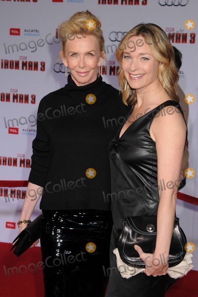 Trudy Styler Photo - 24 April 2013 - Hollywood California - Trudi Styler Iron Man 3 World Premiere held at the El Capitan Theatre Photo Credit Byron PurvisAdMedia