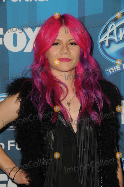 Allison  Iracheta Photo - 07 April 2016 - Hollywood California - Allison  Iracheta Arrivals for FOXs American Idol Finale For The Farewell Season held at The Dolby Theater Photo Credit Birdie ThompsonAdMedia