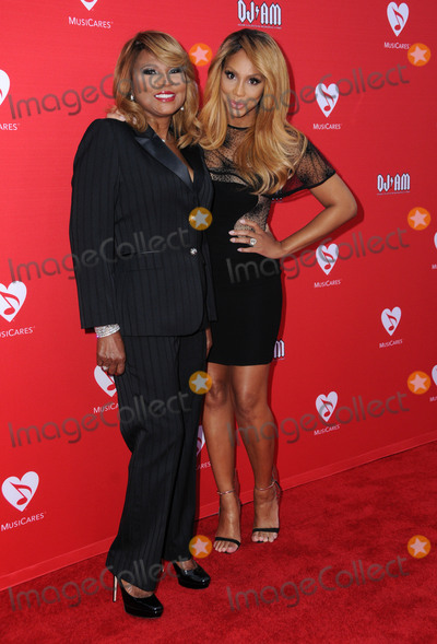 Tamar Braxton Photo - 19 May 2016 - Los Angeles California - Evelyn Braxton Tamar Braxton Arrivals for the 12th Annual MusiCares MAP Fund Benefit Concert Honoring Smokey Robinson held at The Novo by Micosoft Photo Credit Birdie ThompsonAdMedia