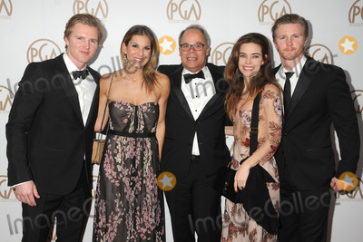 Thad Luckinbill Photo - 23 January 2016 - Century City California - Trent Luckinbill Molly Smith Ed McDonnell Amelia Heinle Thad Luckinbill 27th Annual Producers Guild of America Awards held at the Hyatt Regency Century Plaza Hotel Photo Credit Byron PurvisAdMedia