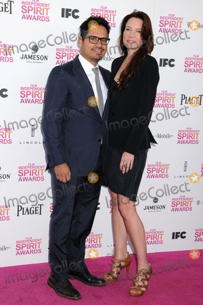 Michael Pena Photo - 23 February 2013 - Santa Monica California - Michael Pena 2013 Film Independent Spirit Awards - Arrivals held at Santa Monica Beach Photo Credit Byron PurvisAdMedia