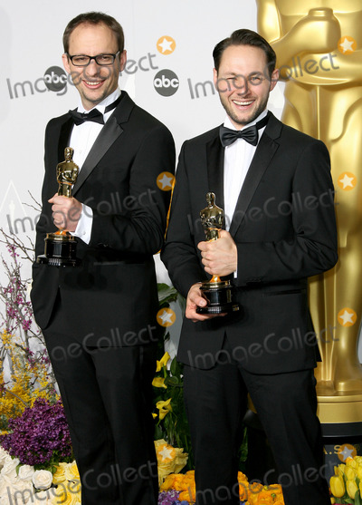 Alexandre Espigares Photo - 02 March 2014 - Hollywood California - Laurent Witz Alexandre Espigares 86th Annual Academy Awards held at the Dolby Theatre at Hollywood  Highland Center Photo Credit AdMedia