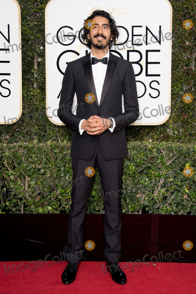 Dev Patel Photo - 08 January 2016 - Beverly Hills California - Dev Patel74th Annual Golden Globe Awards held at the Beverly Hilton Photo Credit HFPAAdMedia