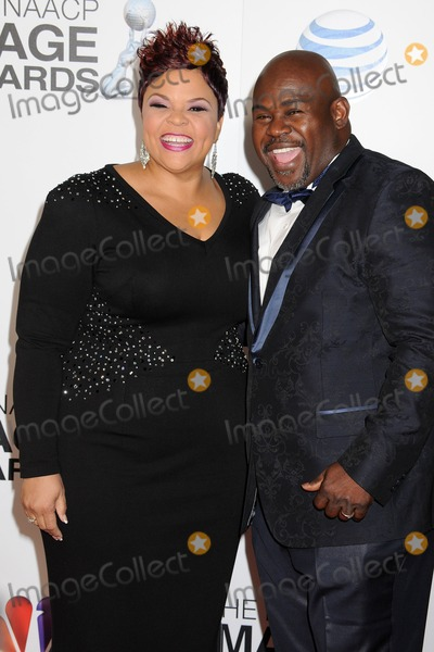 David Mann Photo - 1 February 2013 - Los Angeles California - Tamela Mann David Mann 44th NAACP Image Awards - Arrivals held at the Shrine Auditorium Photo Credit Byron PurvisAdMedia