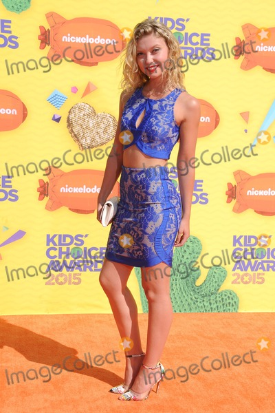 Amanda Dilks Photo - 28 March 2015 - Inglewood California - Amanda Dilks 2015 Kids Choice Awards held at The Forum Photo Credit Byron PurvisAdMedia
