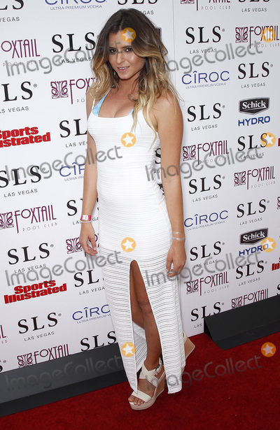 Anastasia Ashley Photo - 02 May 2015 - Las Vegas Nevada - Anastasia Ashley Official Sports Illustrated Fight Weekend Party at Foxtail Pool Club at SLS Las Vegas Photo Credit MJTAdMedia