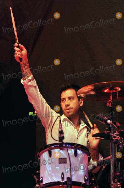 Aaron McVeigh Photo - 03 June 2011 - Pittsburgh PA - Drummer AARON MCVEIGH of the band FOXY SHAZAM perform as opening act for PANIC AT THE DISCO on a stop on their Vices  Virtues Tour 2011 held at Stage AE  Photo Credit Jason L NelsonAdMedia