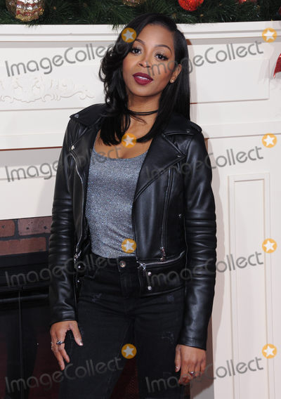 Bresha Webb Photo - 03 November 2016 - Westwood California Bresha Webb Premiere Of Universals Almost Christmas held at Regency Village Theatre Photo Credit Birdie ThompsonAdMedia