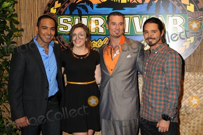 Albert Destrade Photo - 18 December 2011 - Los Angeles California - Benjamin Wade Coach Sophie Clarke Albert Destrade and Ozzy Lusth Survivor South Pacific Finale  Reunion held at CBS Television City Photo Credit Byron PurvisAdMedia