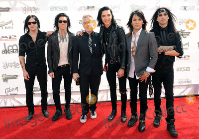 Ashley Purdy Photo - 22 July 2015 - Cleveland Ohio - Jinx Jake Pitts Andy Biersack Ashley Purdy and Christian CC Coma of the band Black Veil Brides and Alternative Press CEOFounder Mike Shea attend the 2015 Alternative Press Music Awards at Quicken Loans Arena Photo Credit Jason L NelsonAdMedia