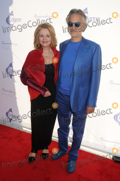 Andrea Bocelli Photo - 25 September 2015 - Los Angeles California - Renee Fleming Andrea Bocelli Remembering Pavarotti Benefit Concert and Gala held at The Music Center Photo Credit Byron PurvisAdMedia