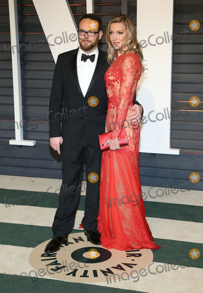 Dana Brunetti Photo - 22 February 2015 - Beverly Hills California - Katie Cassidy Dana Brunetti 2015 Vanity Fair Oscar Party Hosted By Graydon Carter following the 87th Academy Awards held at the Wallis Annenberg Center for the Performing Arts Photo Credit AdMedia