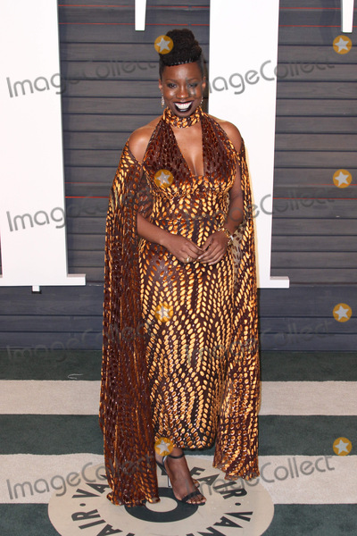 Adepero Oduye Photo - 28 February 2016 - Beverly Hills California - Adepero Oduye 2016 Vanity Fair Oscar Party hosted by Graydon Carter following the 88th Academy Awards held at the Wallis Annenberg Center for the Performing Arts Photo Credit AdMedia