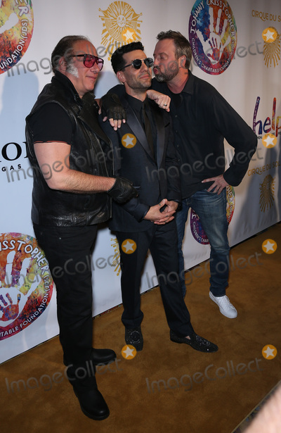 Andrew Dice Clay Photo - 12 September 2016 - Las Vegas Nevada -  Andrew Dice Clay Criss Angel Tom Green  Criss Angel HELP Charity event to raise funds for Pediatric Cancer Research at Luxor Photo Credit MJTAdMedia