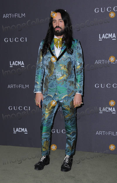 Alessandro Michele Photo - 29 October 2016 - Los Angeles California Alessandro Michele 2016 LACMA ArtFilm Gala honoring Robert Irwin and Kathryn Bigelow presented by Gucci held at LACMA Photo Credit Birdie ThompsonAdMedia