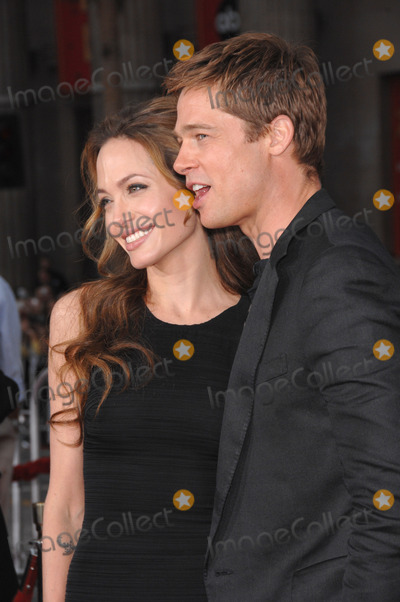 Angelina Jolie Photo - 20 September 2016 - Los Angeles CA - Angelina Jolie Pitt has filed for divorce from Brad Pitt Jolie Pitt 41 filed legal docs Monday citing irreconcilable differences Jolie Pitt requested physical custody of the couples shared six children  Maddox Pax Zahara Shiloh Vivienne and Knox  asking for Pitt to be granted visitation citing legal documents File Photo 06 June 2007 - Los Angeles CA - Brad Pitt  Angelina Jolie Oceans Thirteen premiere at Graumans Chinese Theatre Hollywood Photo Credit JaguarAdMedia