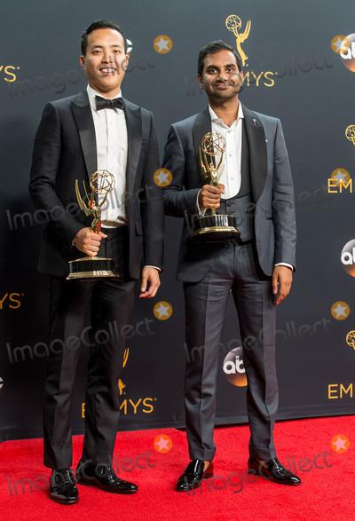 Alan Yang Photo - 18 September 2016 - Los Angeles California - Alan Yang Aziz Ansari 68th Annual Primetime Emmy Awards held at Microsoft Theater Photo Credit AdMedia