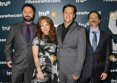 Andrew Orvedahl Photo - 28 January 2016 - Los Angeles California - Adam Cayton-Holland Maria Thayer Ben Roy Andrew Orvedahl Those Who Cant Series Premiere held at The Wilshire Ebell Theatre Photo Credit Byron PurvisAdMedia