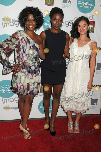 Kelsey Scott Photo - 14 August 2014 - Hollywood California - Kelsey Scott Ameenah Kaplan Tina Sanchez 10th Annual HollyShorts Film Festival Opening Night Celebration held at the TCL Chinese Theater Photo Credit Byron PurvisAdMedia