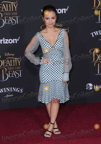 Aimee Carrero Photo - 02 March 2017 - Hollywood California - Aimee Carrero Los Angeles premiere of Disneys Beauty and the Beast held at El Capitan Theatre Photo Credit Birdie ThompsonAdMedia