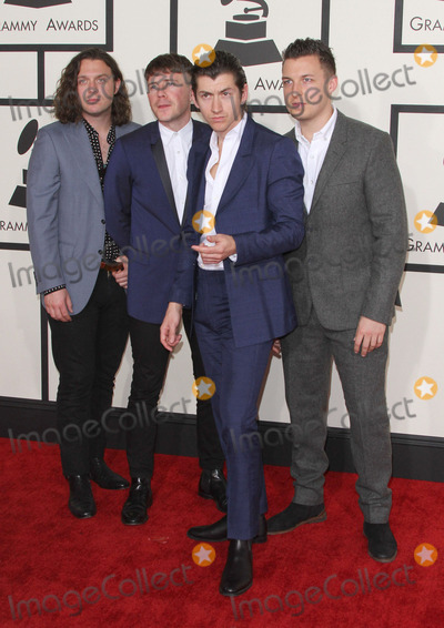 Arctic Monkeys Photo - 08 February 2015 - Los Angeles California - Nick OMalley Jamie Cook Alex Turner and Matt Helders Arctic Monkeys57th Annual GRAMMY Awards held at the Staples Center Photo Credit AdMedia