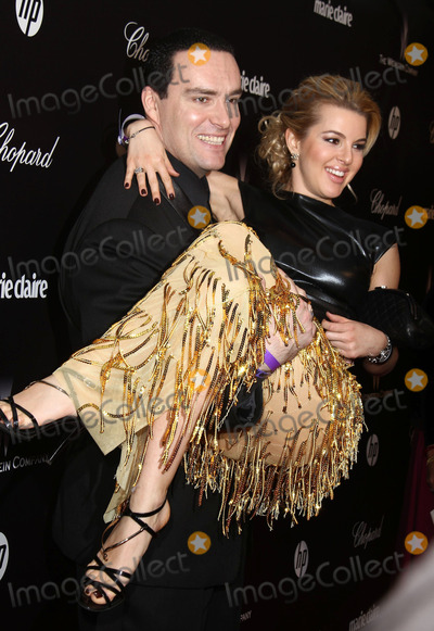 Alexander Nevsky Photo - 15 January 2012 - Hollywood California - Alexander Nevsky Oxana Sidorenko The Weinstein Company 2012 Golden Globe Awards After Party held at  Bar 210 at the Beverly Hilton Hotel Photo CreditCharles HarrisAdMedia