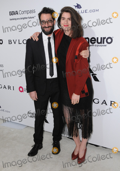 GABBY HOFFMAN Photo - 26 February 2017 - West Hollywood California - Jay Duplass Gabby Hoffman 25th Annual Elton John Academy Awards Viewing Party held at West Hollywood Park Photo Credit Birdie ThompsonAdMedia