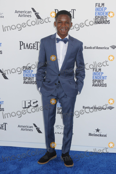 Abraham Attah Photo - 27 February 2016 - Santa Monica California - Abraham Attah 31st Annual Film Independent Spirit Awards - Arrivals held at the Santa Monica Pier Photo Credit Byron PurvisAdMedia