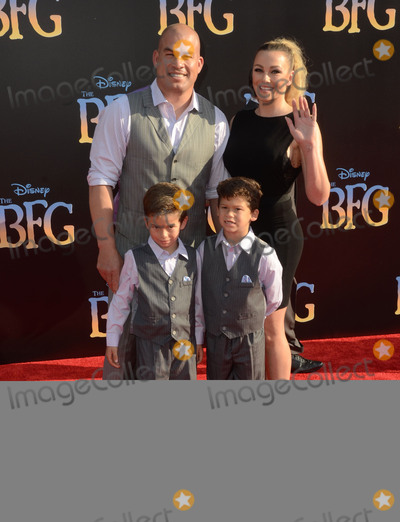 Amber Miller Photo - 21 June 2016 - Hollywood Tito Ortiz Amber Miller Arrivals for the Premiere Of Disneys The BFG held at El Capitan Theater Photo Credit Birdie ThompsonAdMedia