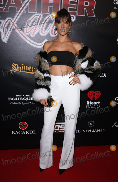 Alessandra Ambrosio Photo - 04 February 2017 - Houston Texas - Alessandra Ambrosio 14th Annual Leather and Laces spectacular Saturday Night at Hughes Manor during Superbowl Weekend Photo Credit MJTAdMedia