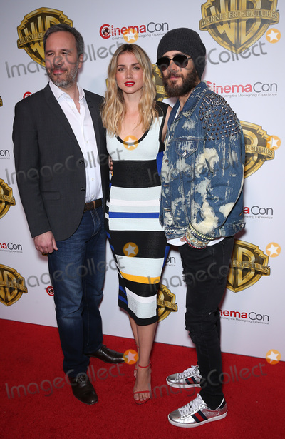 Jared Leto Photo - 29 March 2017 - Las Vegas NV - Denis Villeneuve Ana De Armas Jared Leto 2017 Warner Brothers The Big Picture Presentation at CinemaCon at Caesars Palace  Photo Credit MJTAdMedia