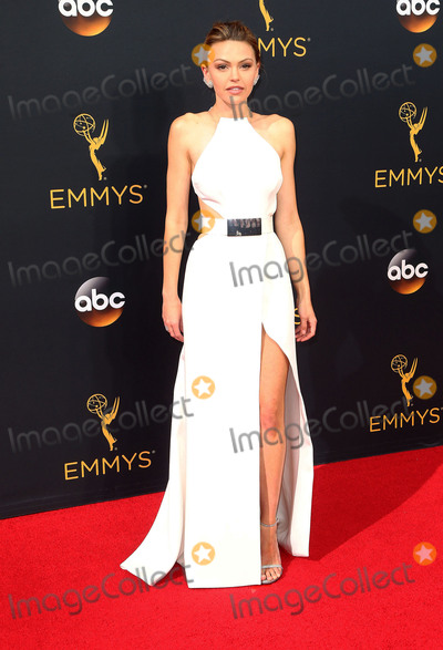 Aimee Teegarden Photo - 18 September 2016 - Los Angeles California - Aimee Teegarden 68th Annual Primetime Emmy Awards held at Microsoft Theater Photo Credit AdMedia