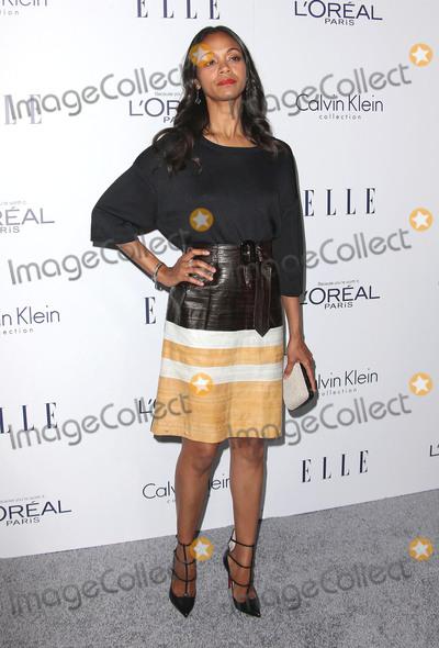 Zoe Saldana Photo - 19 October 2015 - Beverly Hills California - Zoe Saldana 22nd Annual ELLE Women In Hollywood Awards held at Four Seasons Hotel Los Angeles Photo Credit F SadouAdMedia