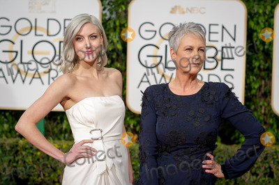 Annie Guest Photo - Annie Guest and Jamie Lee Curtis arrive at the 73rd Annual Golden Globe Awards at the Beverly Hilton in Beverly Hills CA on Sunday January 10 2016 Photo Credit HFPAAdMedia