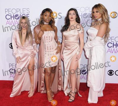 Fifth Harmony Photo - 18 January 2017 - Los Angeles California - Fifth Harmony 2017 Peoples Choice Awards 2017 held at the Microsoft Theater Photo Credit Birdie ThompsonAdMedia
