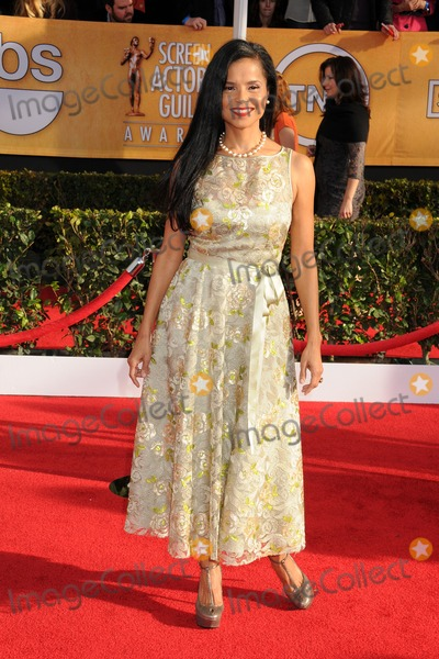 Victoria Rowell Photo - 27 January 2013 - Los Angeles California - Victoria Rowell 19th Annual Screen Actors Guild Awards - Arrivals held at The Shrine Auditorium Photo Credit Byron PurvisAdMedia