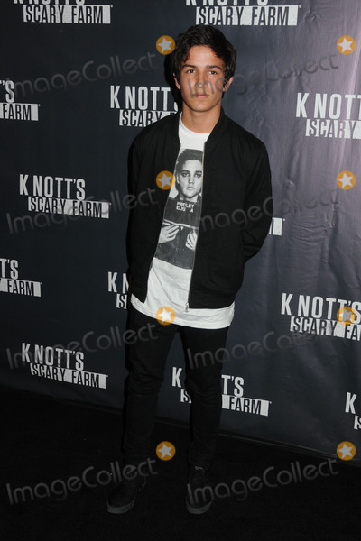 Aramis Knight Photo - 1 October 2015 - Buena Park California - Aramis Knight Knotts Scary Farm Black Carpet Event held at Knotts Berry Farm Photo Credit Byron PurvisAdMedia