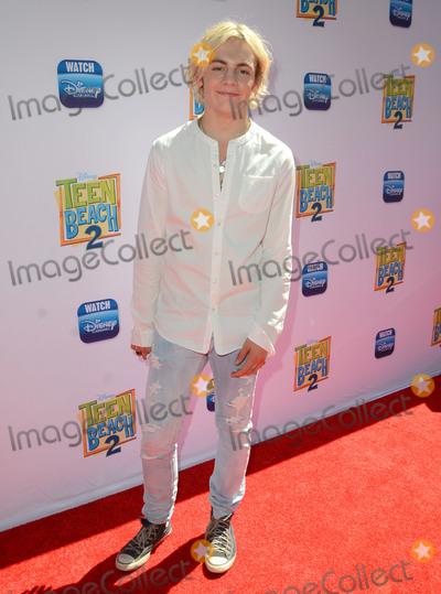 Ross Lynch Photo - 22 June 2015 - Burbank California - Ross Lynch Arrivals for the Los Angeles premiere of Disneys Teen Beach 2 held at The Walt Disney Studios Photo Credit Birdie ThompsonAdMedia