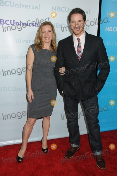Amber Jaeger Photo - 6 January 2012 - Pasadena California - Amber Jaeger and Sam Jaeger NBCUniversal Press Tour All-Star Party held at The Athenaeum Photo Credit Byron PurvisAdMedia
