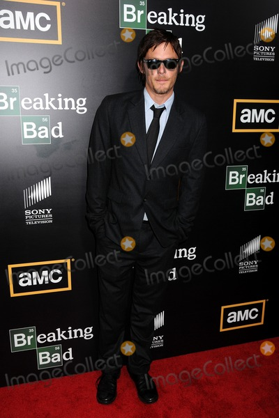 Norman Reedus Photo - 14 July 2012 - San Diego California - Norman Reedus AMCs Breaking Bad Season 5 Premiere at Comic-Con 2012 held at Reading Cinemas Photo Credit Byron PurvisAdMedia