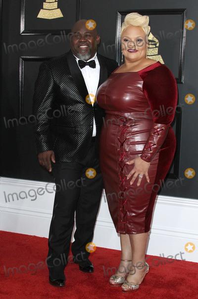 Tamela Mann Photo - 12 February 2017 - Los Angeles California - David Mann Tamela Mann 59th Annual GRAMMY Awards held at the Staples Center Photo Credit AdMedia