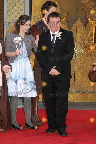 Andrew Porters Photo - 17 December 2015 - Hollywood California - Andrew Porters Fans Get Married With Star Wars Themed Wedding held at the TCL Chinese Theatre IMAX Photo Credit Byron PurvisAdMedia