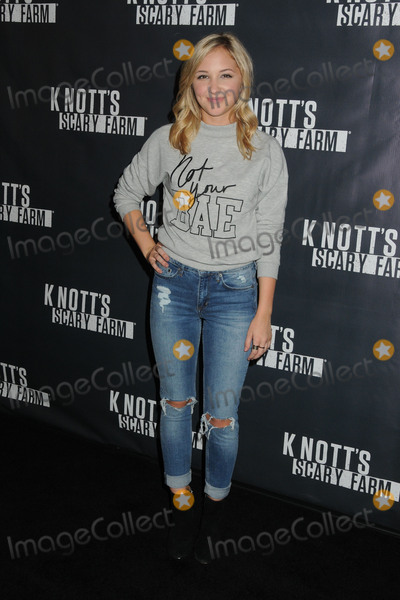 Audrey Whitby Photo - 1 October 2015 - Buena Park California - Audrey Whitby Knotts Scary Farm Black Carpet Event held at Knotts Berry Farm Photo Credit Byron PurvisAdMedia