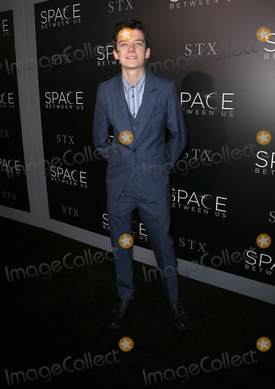 Asa Butterfield Photo - 17 January 2017 - Hollywood California - Asa Butterfield The Space Between Us Los Angeles Premiere held ArcLight Hollywood Photo Credit F SadouAdMedia