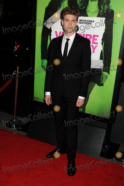 Ashley Charles Photo - 4 February 2014 - Los Angeles California - Ashley Charles Vampire Academy Los Angeles Premiere held at Regal Cinemas LA Live Photo Credit Byron PurvisAdMedia