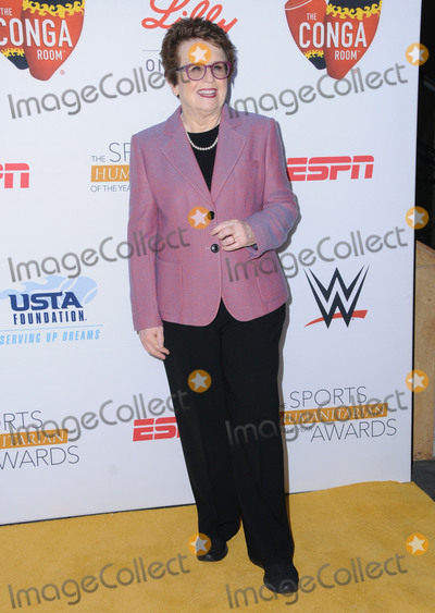 Billy Jean King Photo - 12 July 2016 - Los Angeles California Billie Jean King Arrivals for the Second Annual Sports Humanitarian of the Year Awards presented by ESPN held at Conga Room at LA Live Photo Credit Birdie ThompsonAdMedia