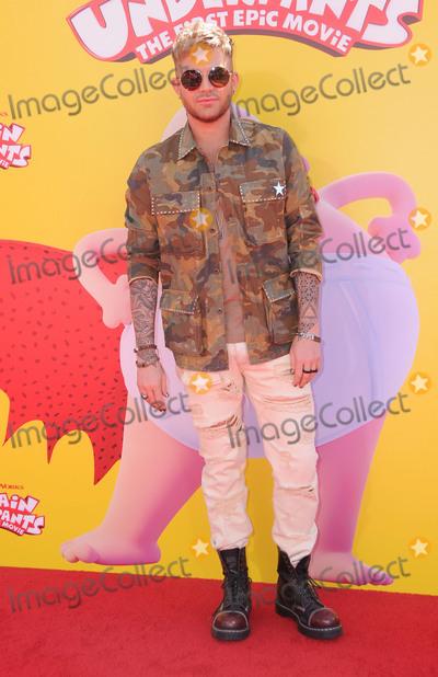 Adam Lambert Photo - 21 May 2017 - Westwood California - Adam Lambert Premiere of Dreamworks Captain Underpants The First Epic Movie held at Regency Village Theater in Westwood Photo Credit Birdie ThompsonAdMedia